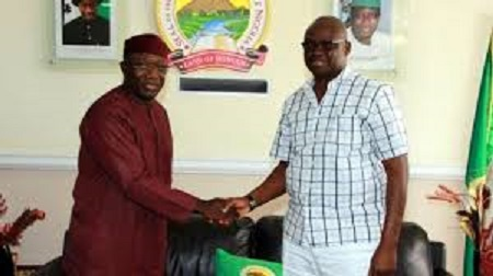 Gov. Fayemi breaks political bounds, appoints Fayose into COVID-19 panel