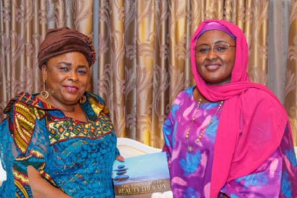 Buhari commends  Patience Jonathan for donating towards COVID-19 fight