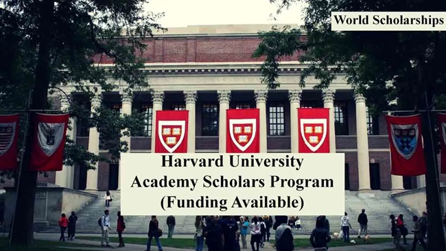 Harvard Academy Scholars Program 2021 in the USA (Fully Funded)