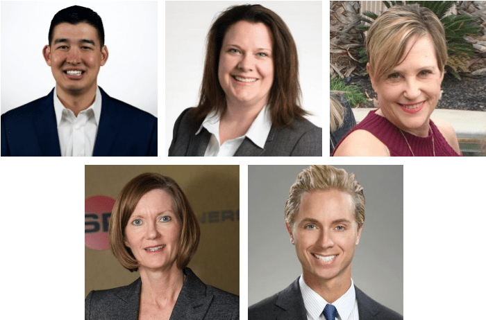 Merten Rice, Sue Pratt, Cathy Froncek, Kathy Drew & Brandon Hewitt