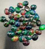 Black Opal faceted
