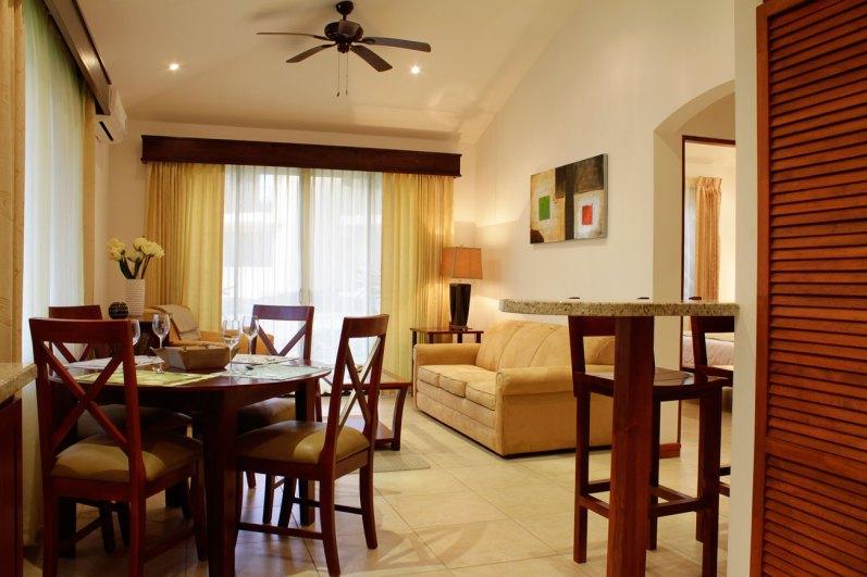 Dining Area 2 Bedroom Condo