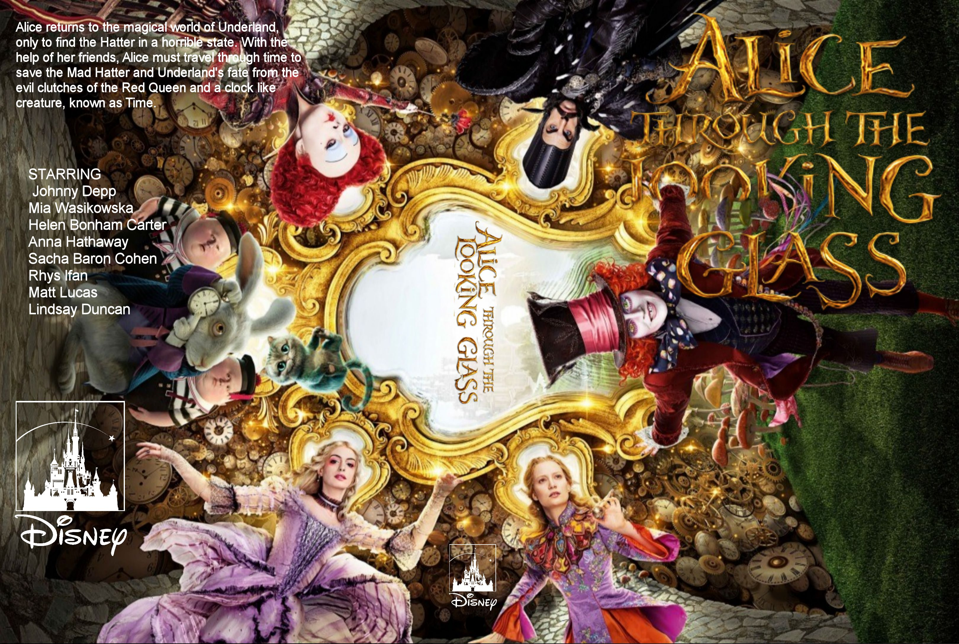 Alice Through The Looking Glass 2016 Wallpapers Movie Hq