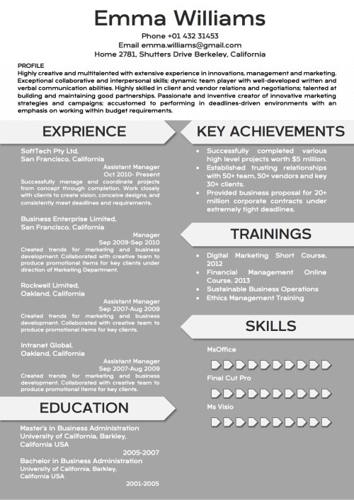 creative_resume_word_template