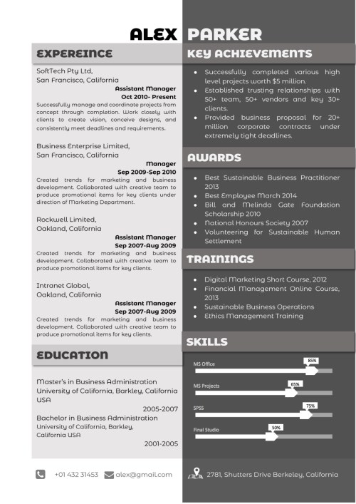 resume_29_grey_black_professional