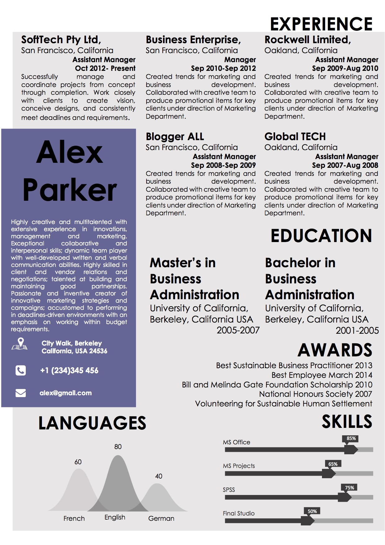 Book Style Resume Template in Word Vista Resume