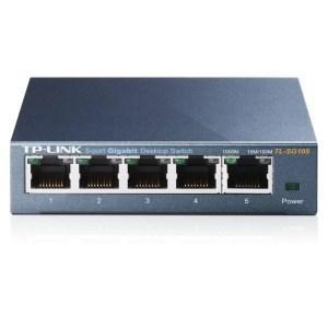 TP-Link Ethernet Switch 5 Poort 1000Mbps TL-SG105