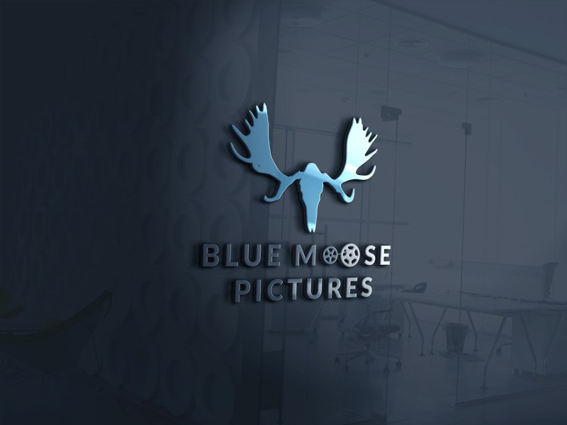 Blue Moose 3D Logo