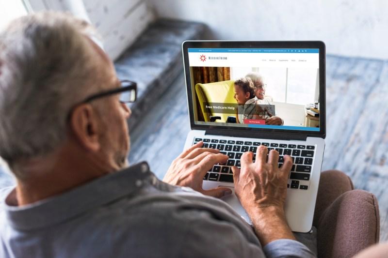 Man on Medicare Friend webstie