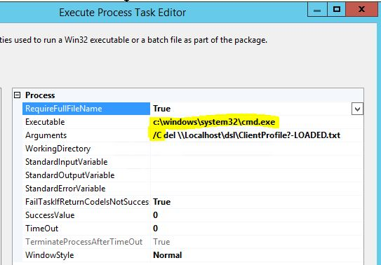 SSIS_Command