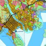 Utsnitt av kommuneplankart sentrum