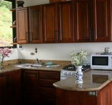 2 BR cabin kitchen