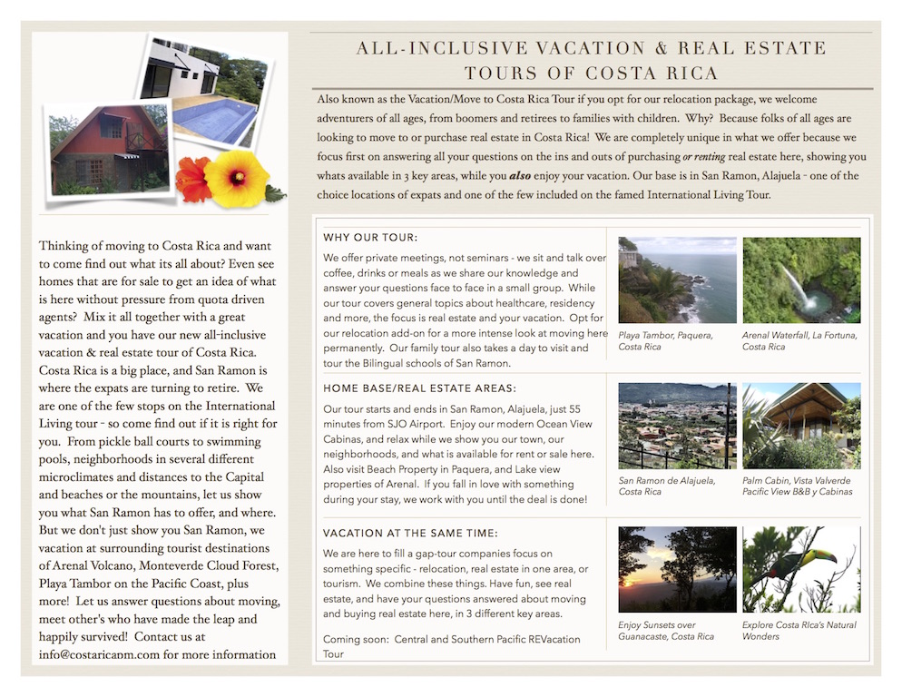 Real Estate Vacation Tours