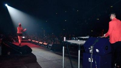 Miss Dynamite On Stage Wembley