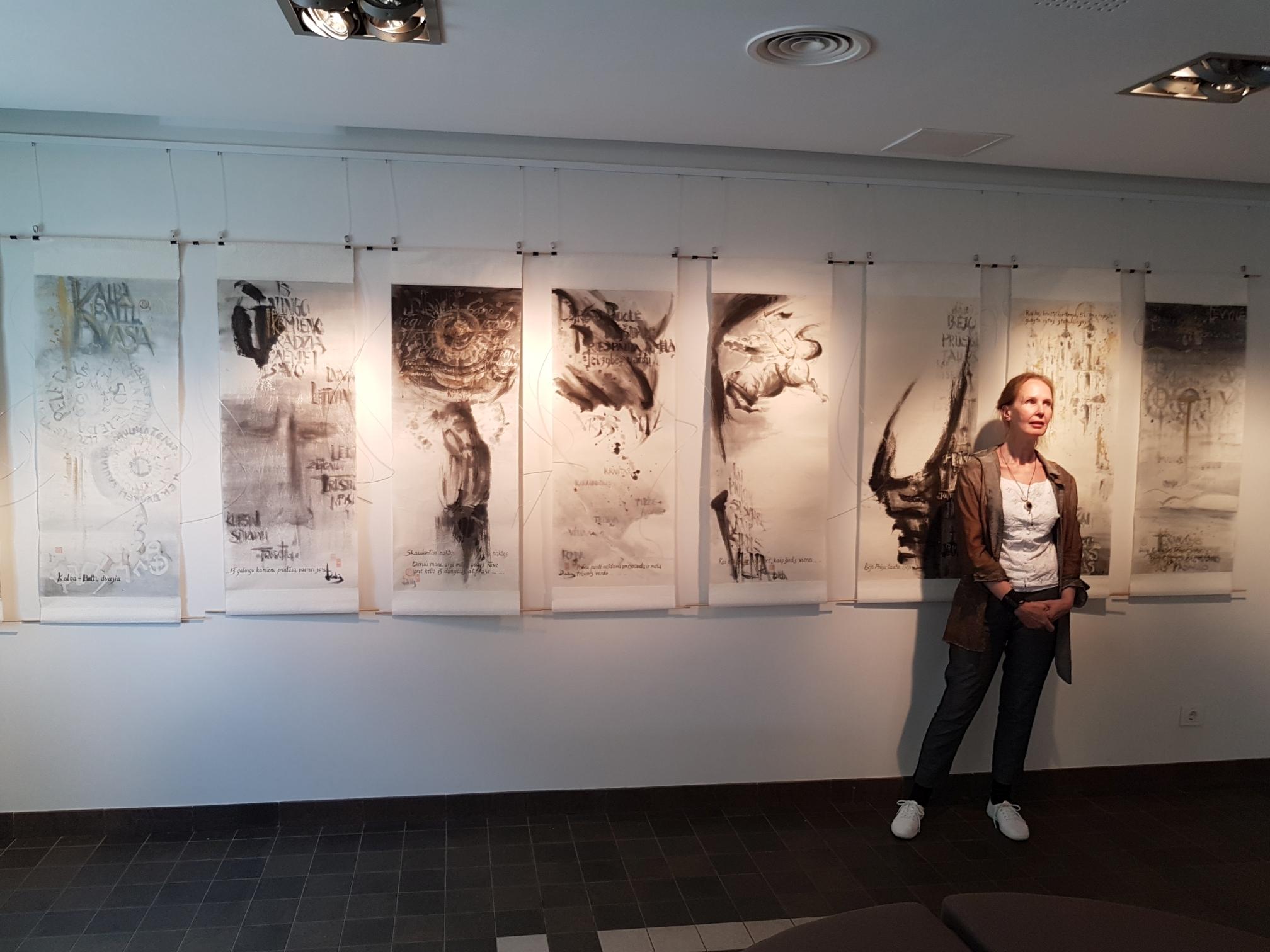 Dalios Dokšaitės tapybos darbų paroda