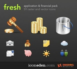 finance icon pack blogging