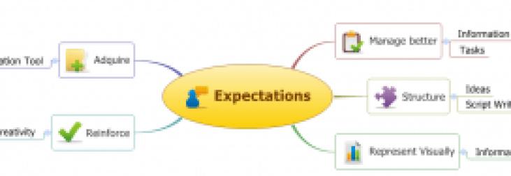 Expectations mindmap