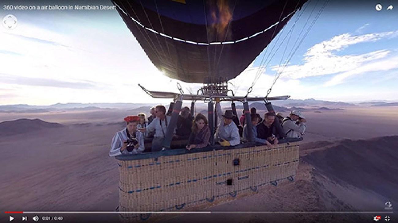 Immersive action 360 films