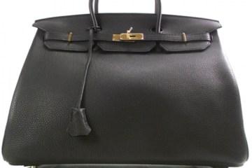 Hermes Togo Birkin 40 Noir