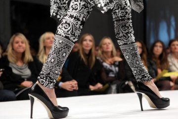 Imaginary People Show during Chicago Fashion Focus. Shoes provided by Akira - thanks Jon Cotay!
