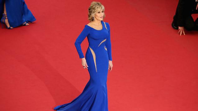 Jane Fonda in Atelier Versace, 2015
