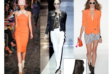 Spring '12 Runway Looks: Victoria Beckham, Gucci, Rebecca Minkoff (Bonus: Alexander Wang Shelly Perforated Boots)