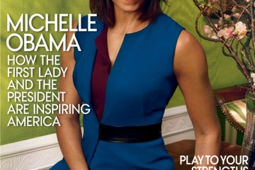 Michelle Obama in Reed Krakoff on the April Vogue Cover