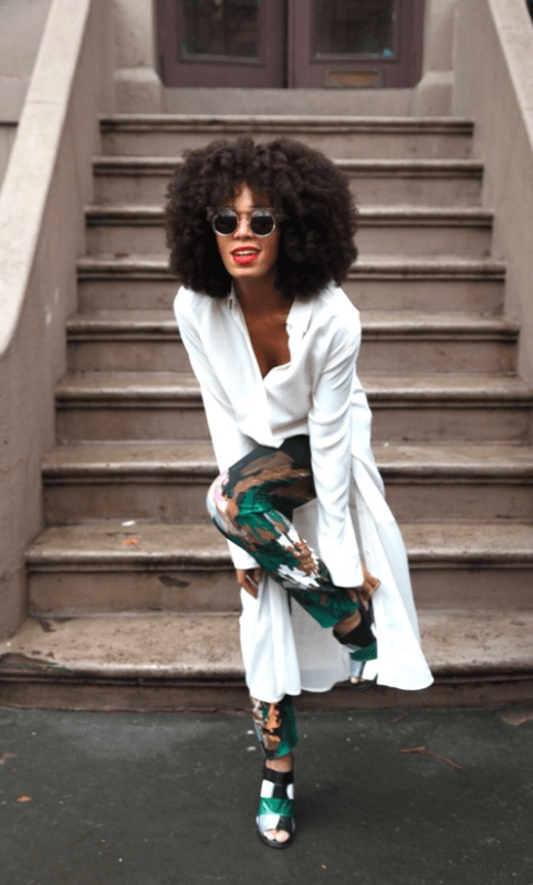 Solange Knowles, Image via Pinterest
