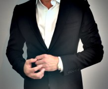 Gucci Blazer, Ascot Chang Shirt, Cartier Santos Watch