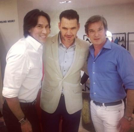 Jesse and Joe with Roland Mouret