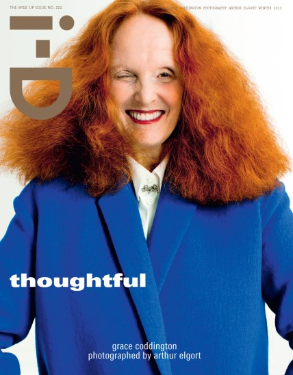 Cover of i-D by Arthur Elgort, November 2012