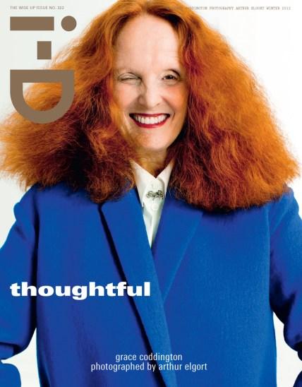 Cover of i-D by Arthur Elgort, November 2012