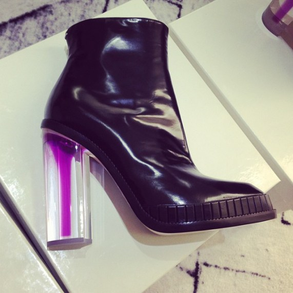Fell in love with this Margiela bootie at the West Village boutique