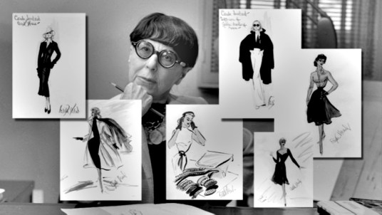 Edith Head and her sketches