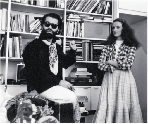 Grace Coddington and Karl Lagerfeld, 1974
