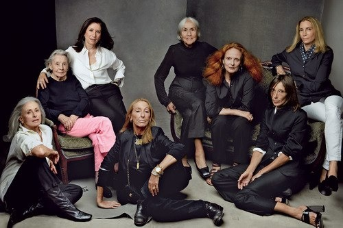The cast of In Vogue: The Editor's Eye, 2012