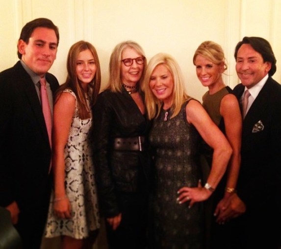 The Resnick Family with Diane Keaton