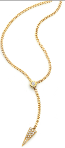 18K Yellow Gold Slide Necklace