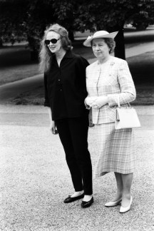 Grace Coddington and Queen Elizabeth II
