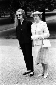 Grace Coddington and Queen Elizabeth II