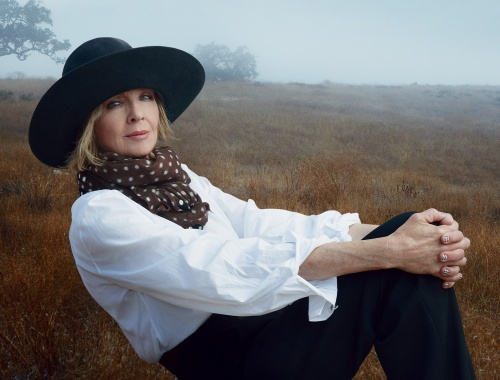 Diane Keaton by Annie Leibovitz for Vogue