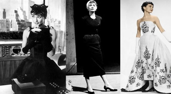 Audrey Hepburn's 'Sabrina' costumes designed by Head and Givenchy