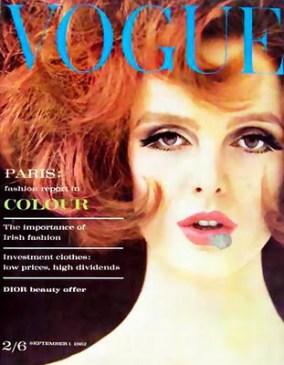 Vogue cover, 1962