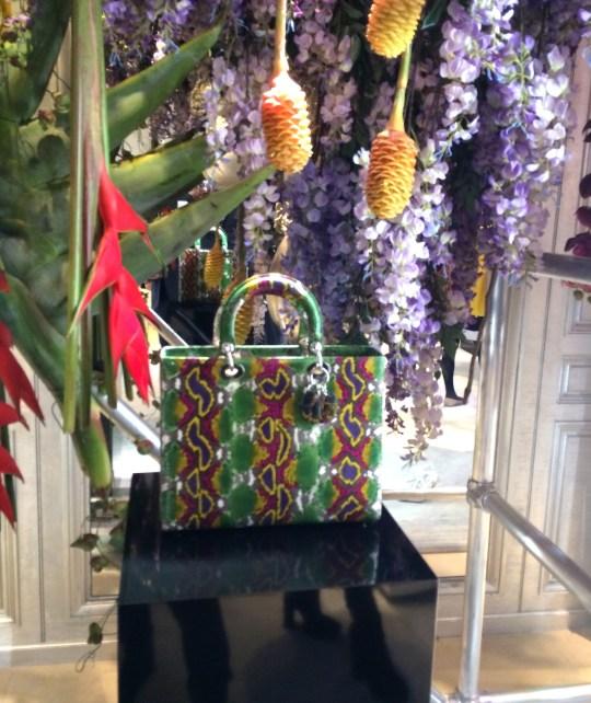 Dior SS 2014 boutique presentation