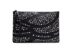 1. Zara Studded Clutch Bag