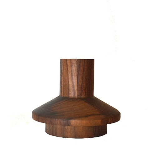 5. Michael Verheyden Candlestick in Walnut