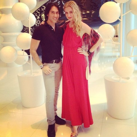 Jesse and Lisa Marie at Mondrian SoBe