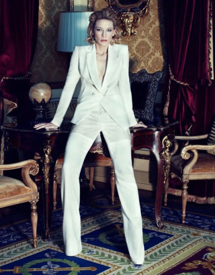 Cate Blanchett in Harpers Bazaar UK April 2012