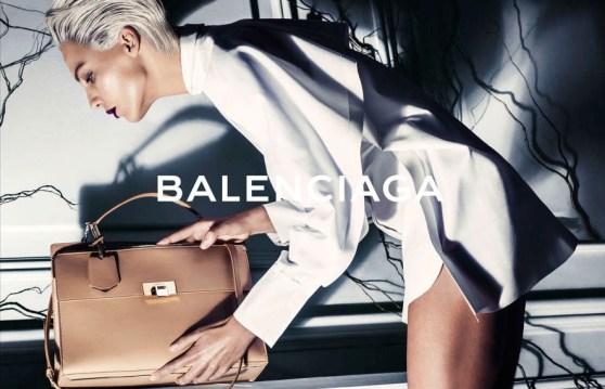 Balenciaga Spring 2014 Daria Werbowy