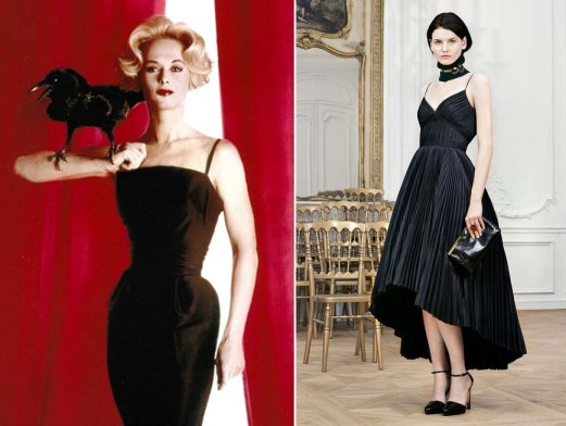 Tippi Hedren in Hitchcock's Birds, 1963 | Dior Pre-Fall 2014